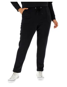 Black Slim Jogger by Simply Be