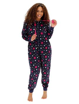 Pretty Lounge Lightweight Supersoft Mink Fleece Onesie by Simply Be