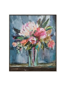 "36""X30"" Floral Still Life Framed Wall Canvas   Opalhouse™ by Opalhouse"