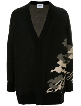Oversized Embroidered Cardigan by Dondup