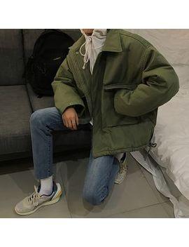 Jun.Lee   Drawstring Padded Oversize Jacket by Jun.Lee