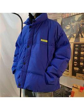 Yergo   Stand Collar Padded Jacket by Yergo