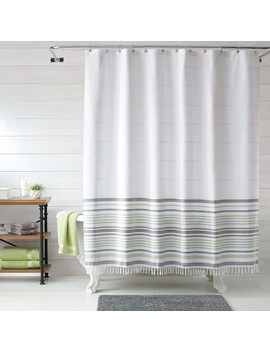 Better Homes & Gardens Turkish Stripe Shower Curtain, 1 Each by Better Homes & Gardens