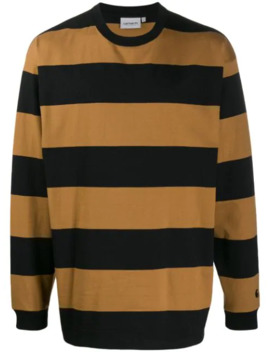Long Sleeved Striped Sweater by Carhartt Wip