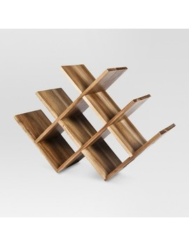 Acacia 8 Bottle Wine Rack   Threshold™ by Shop Collections