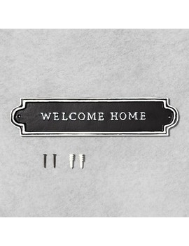 Welcome Home Sign Black   Hearth & Hand™ With Magnolia by Hearth & Hand With Magnolia
