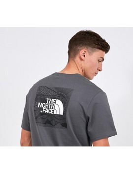 Redbox Celebration T Shirt | Van Grey by The North Face