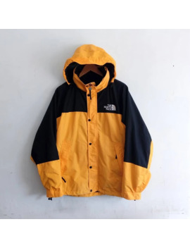 The North Face Vintage Windbreaker Pocketable Yellow Jacket by Vintage  ×  The North Face  ×