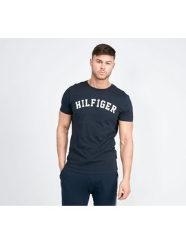 Lounge Logo T Shirt | Navy Blazer by Tommy Hilfiger