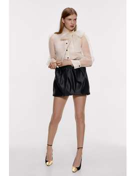 Voluminous Mini Skirt by Zara