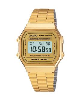 Vintage Goldtone Digital Watch A168 Wg 9 Vt by Casio