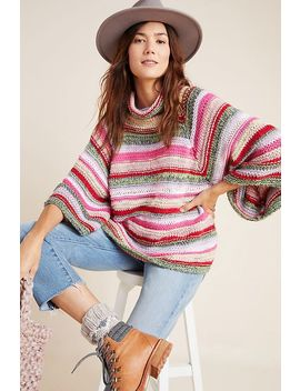 Candice Bell Sleeved Sweater by Anthropologie