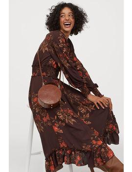 Robe Longue Avec Smocks by H&M