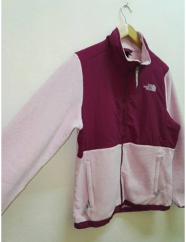 Vintage The North Face Fleece Jacket For Women Pink Colour by The North Face  ×  Goretex  ×