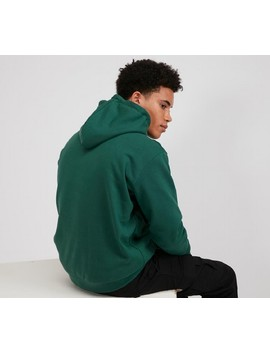 Large Flock Script Overhead Hooded Top | Green / Yellow by Karl Kani