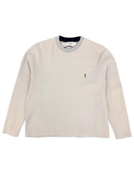 Beige Cotton Knitwear & Sweatshirt by Yves Saint Laurent