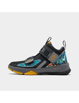 Little Kids' Nike Le Bron Soldier 13 Basketball Shoes by Nike