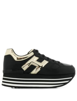 Maxi H222 Platform Sneakers by Hogan