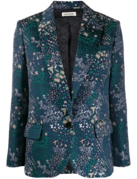 Viking Jac Star Embroidered Blazer by Zadig&Voltaire