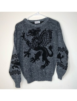 Vintage Griffin Sweater by Vintage