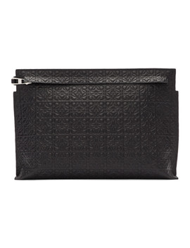 Black T Repeat Pouch by Loewe