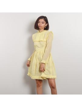 50s Antique Peasant Dress by Vintage