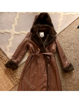Vintage 70s London Fog Fur Lined Trench Deadstock!   Nwt by London Fog