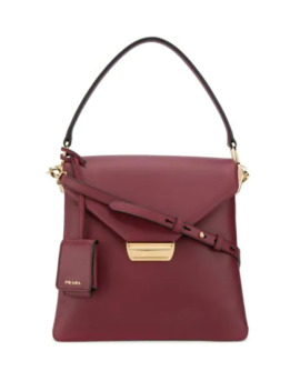 Foldover Tote Bag by Prada