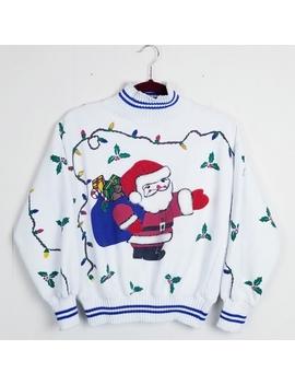 Vintage 80s Santa Sweatshirt by Vintage