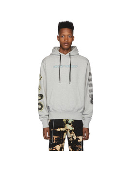 Grey 'do You See' Hoodie by Liam Hodges