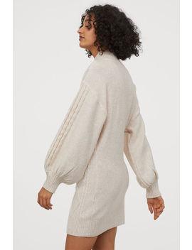 Kleid In Zopfstrick by H&M