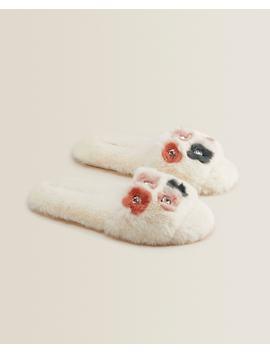 Floral Slippers Women   Footwear   Loungewear   Bedroom by Zara Home