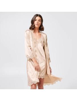 Preview Satin Kimono   Champagne by Target