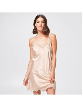 Preview Satin Chemise   Champagne by Target