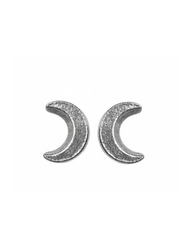 Sickle Moon Earrings By Alchemy Gothic by Alchemy Gothic
