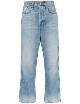 '90s Straight Leg Jeans by Re/Done
