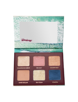 Wanderess™ Seascape Eyeshadow Palette by Wander Beauty