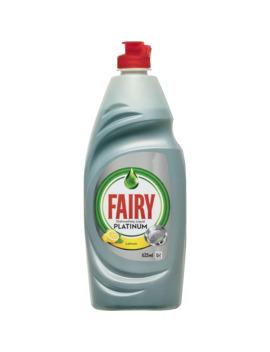 Fairy Dishwashing Liquid Platinum Lemon 625ml by Fairy