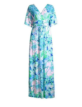 Pargi Floral Maxi Dress by Lilly Pulitzer