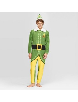 Men's Buddy The Elf Union Suit   Green by Elf