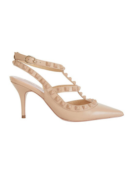 Sphinx Nude Matte Pump by Pink Inc