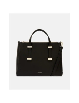 Juddy Leather Tote Bag by Ted Baker
