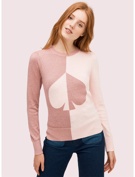 Spade Colorblock Sweater by Kate Spade