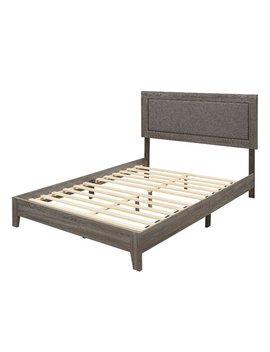 Alline Upholstered Platform Bed by Foundry Select