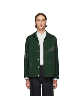 Blouson En Toile Vert Every You by Goodfight