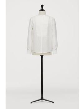 Silk Bib Shirt by H&M