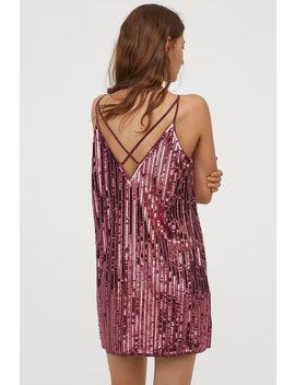 Платье с пайетками by H&M