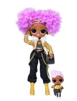Lol Surprise Omg Winter Disco 24 K D.J Fashion Doll & Sister914/5069 by Argos