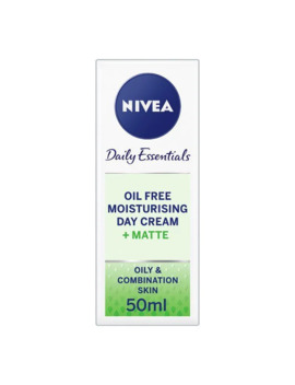Nivea Oil Free Face Cream Moisturiser, 50ml by Superdrug