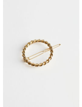Rope Chain Circle Hair Clip by & Other Stories